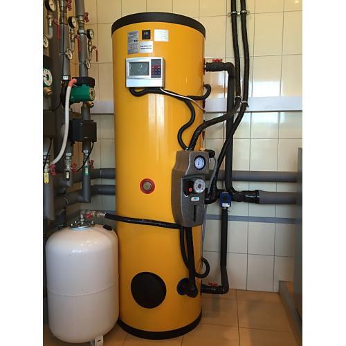 Система подогрева бассейна 65 куб.л., горячего водоснабжения и поддержки отопления на вакуумных коллекторах