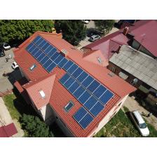 Сетевая солнечная электростанция мощностью 8.5 кВт, г. Берегово