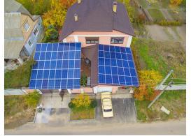 Сетевая солнечная электростанция мощностью 15 кВт, с. Дмитровка