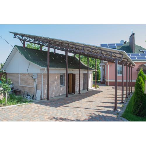 Сетевая солнечная электростанция мощностью 25 кВт под зеленый тариф