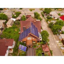 """Сетевая солнечная электростанция мощностью 10 кВт под """"зеленый"""" тариф, г. Киев"""
