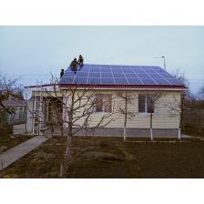 """Сетевая солнечная электростанция мощностью 10 кВт под """"зеленый"""" тариф с. Кипячка"""