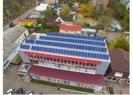 Сетевая солнечная электростанция мощностью 30 кВт, г. Корсунь Шевченковский