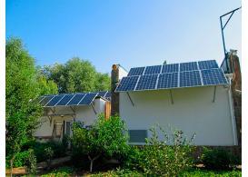 """Сетевая солнечная электростанция мощностью 10 кВт под """"зеленый"""" тариф г. Симферополь"""