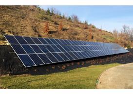 Сетевая солнечная электростанция мощностью 30 кВт под зеленый тариф с. Лесники