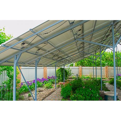 Сетевая солнечная электростанция мощностью 30 кВт под зеленый тариф