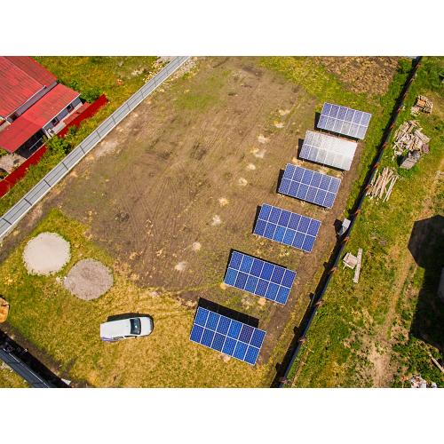 """Сетевая солнечная электростанция мощностью 18,7 кВт под """"зеленый"""" тариф"""