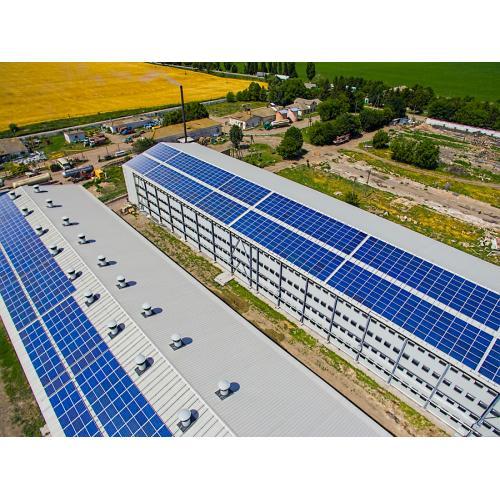 """Сетевая солнечная электростанция мощностью 303 кВт под """"зеленый"""" тариф"""