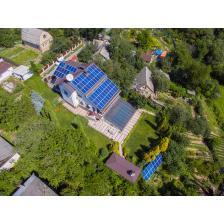 Сетевая солнечная электростанция мощностью 20 кВт, г. Киев
