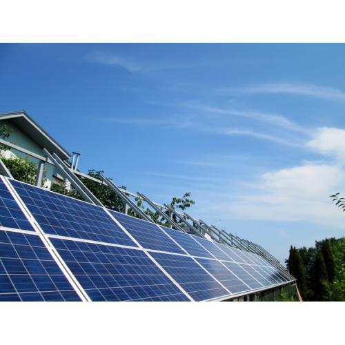 Сетевая солнечная электростанция мощностью 21 кВт под зеленый тариф