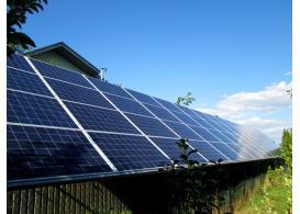 Сетевая солнечная электростанция мощностью 21 кВт с. Старые Петровцы