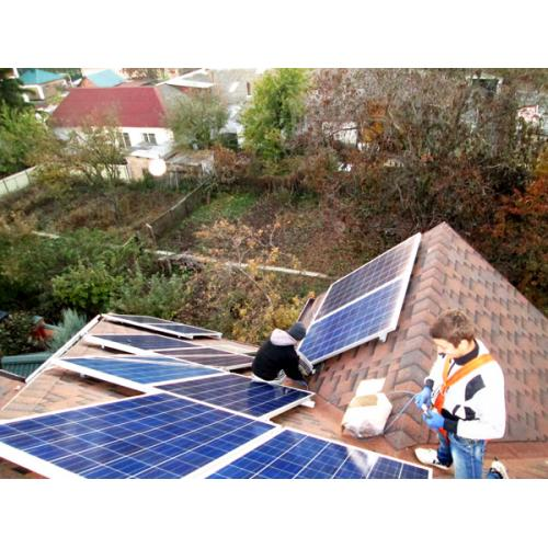 Сетевая солнечная электростанция мощностью 10 кВт под зеленый тариф