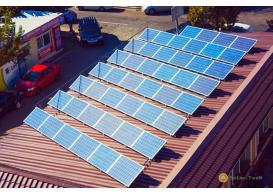 Сетевая солнечная электростанция мощностью 11,5 кВт визового центра Канада Франция