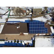 Сетевая солнечная электростанция мощностью 15 кВт, г. Золотоноша