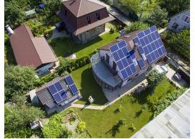 Гибридная солнечная электростанция мощностью 10,7 кВт, с. Княжичи, 2018 год.