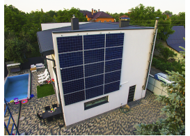 Гибридная солнечная станция мощностью 4 кВт, г. Киев