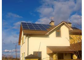 Автономная солнечная электростанция, с. Рудики