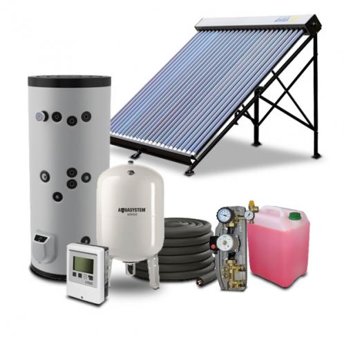 Гелиосистема для горячего водоснабжения на 200 литров