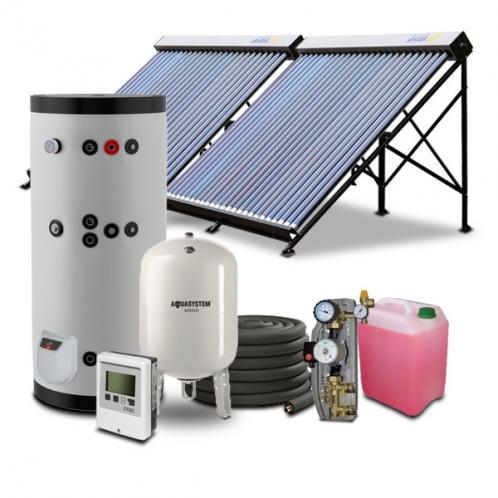 Гелиосистема для горячего водоснабжения на 400 литров