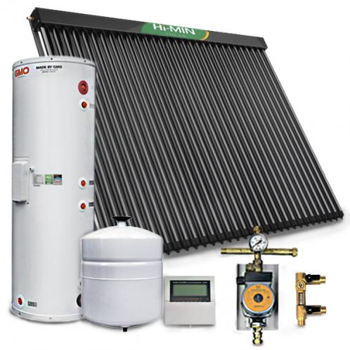 Солнечная система нагрева воды HI-MIN SOLAR на 300 литров