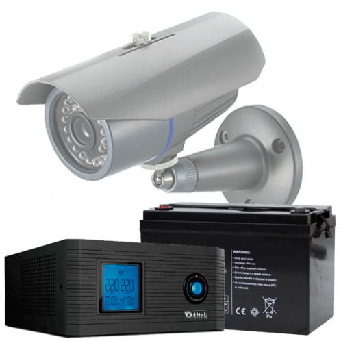 Бесперебойное питание системы видеонаблюдения