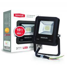 LED Прожектор MAXUS 10W, 5000K
