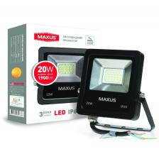 LED Прожектор MAXUS 20W, 5000K