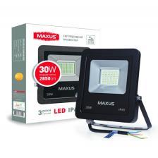 LED Прожектор MAXUS 30W, 5000K