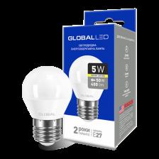 GLOBAL G45 F 5W мягкий свет 220V E27 AP (1-GBL-141)