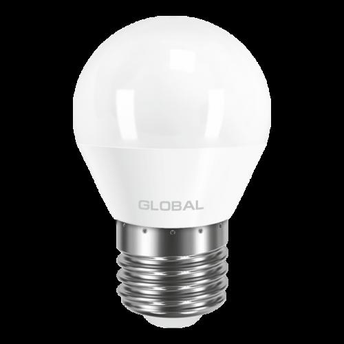 GLOBAL G45 F 5W яркий свет 220V E27 AP (1-GBL-142)