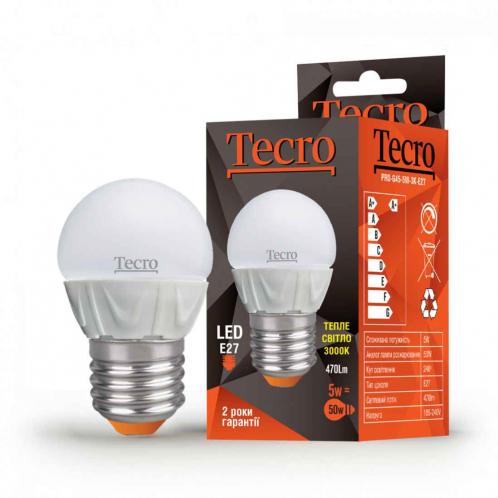Tecro PRO-G45-5W-3K-E27