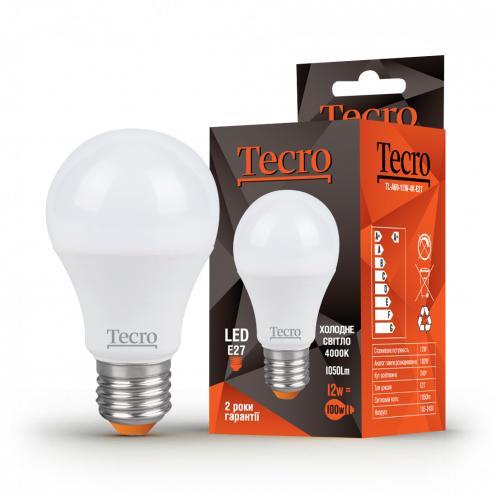 Tecro TL-A60-12W-4K-E27