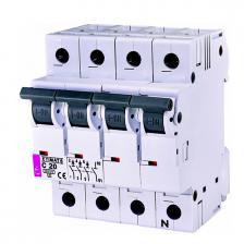 Автоматический выключатель ETIMAT 6 3p+N C20
