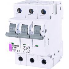 Автоматический выключатель ETIMAT 6 3p C10
