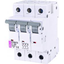 Автоматический выключатель ETIMAT 6 3p C25