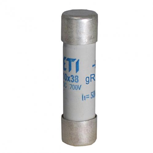 Цилиндрический предохранитель ETI CH10x38 gR 10A/900V AC/DС