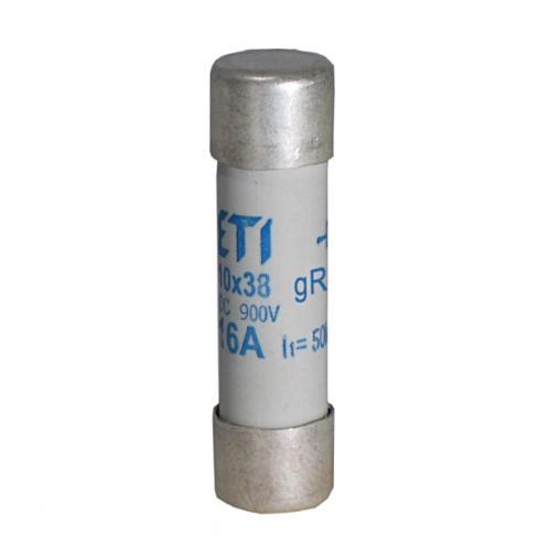 Цилиндрический предохранитель ETI CH10x38 gR 2A/900V AC/DС