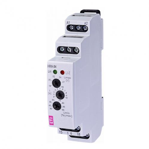 Реле контроля напряжения в 1-фазных сетях HRN-34