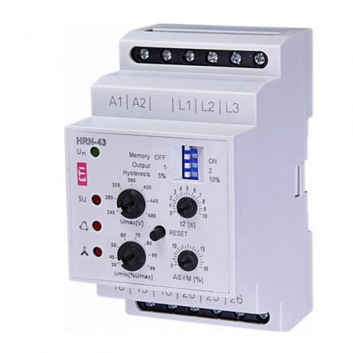 Реле контроля напряжения в 3-фазных сетях HRN-43 230