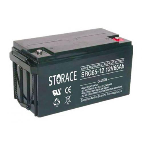 Аккумуляторная батарея STORACE SRG65-12 GEL