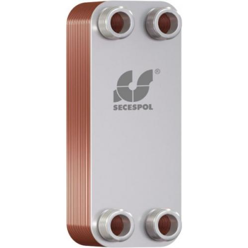 Пластинчатый теплообменник SECESPOL LA 14-40 15 кВт
