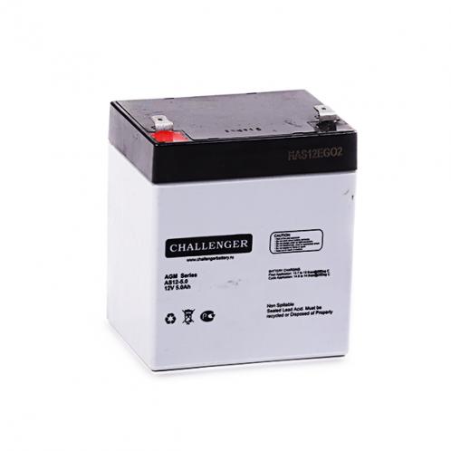 Аккумуляторная батарея Challenger АS12-5.0 12В 5А/ч AGM