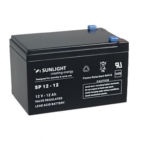 Аккумуляторная батарея SunLight SPb 12-12