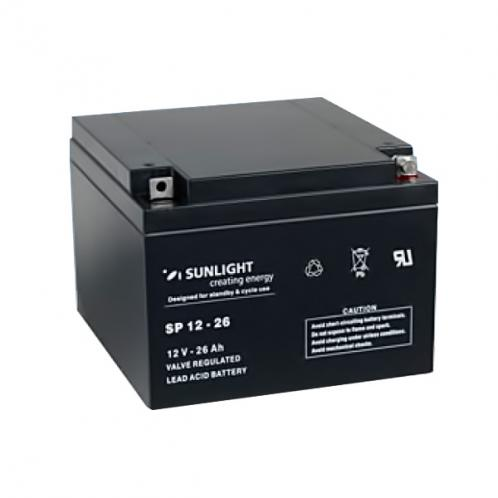 Аккумуляторная батарея SunLight SPb 12-26