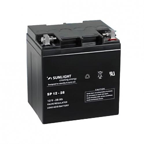 Аккумуляторная батарея SunLight SPb 12-28