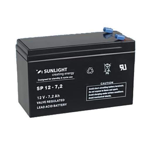 Аккумуляторная батарея SunLight SPb 12-7,2