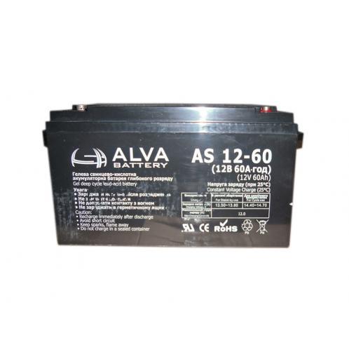 Аккумуляторная батарея ALVA AS12-60