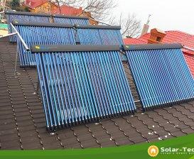 Система горячего водоснабжения на 500л, г. Одесса, зима 2019.