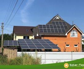 Мережева сонячна електростанція потужністю 27,5 кВт м. Бориспіль, весна 2019