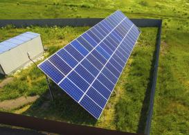 Сетевая солнечная электростанция мощностью 19,8 кВт г. Борисполь